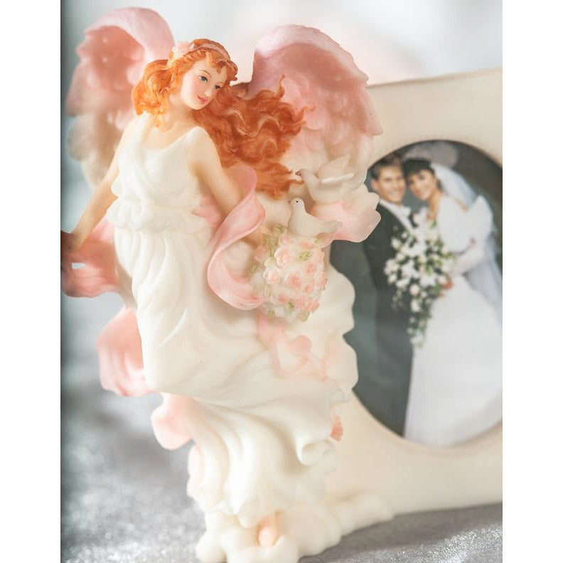 "Seraphim Classics ""Harmony"" Love's Guardian Wedding Angel Picture Frame"