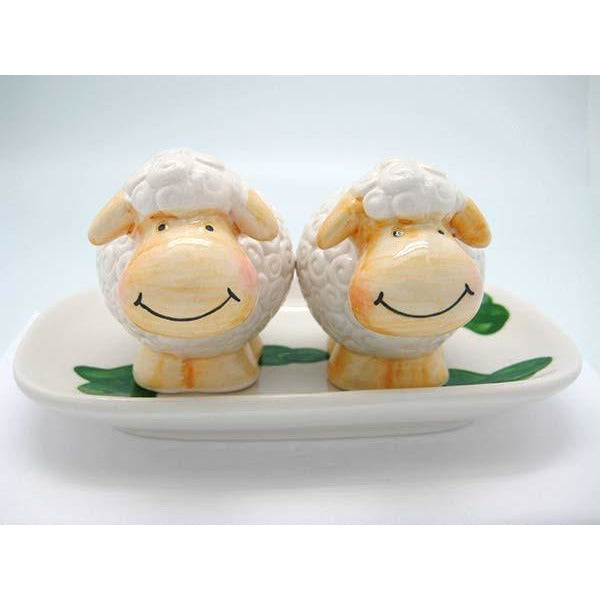 Sheep Cake Topper Figurine