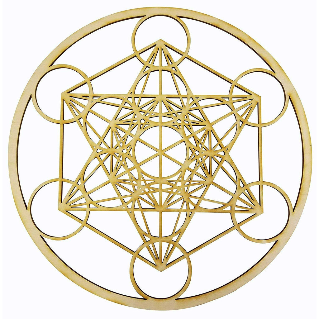 "12"" Metatron's Cube Wall Art 