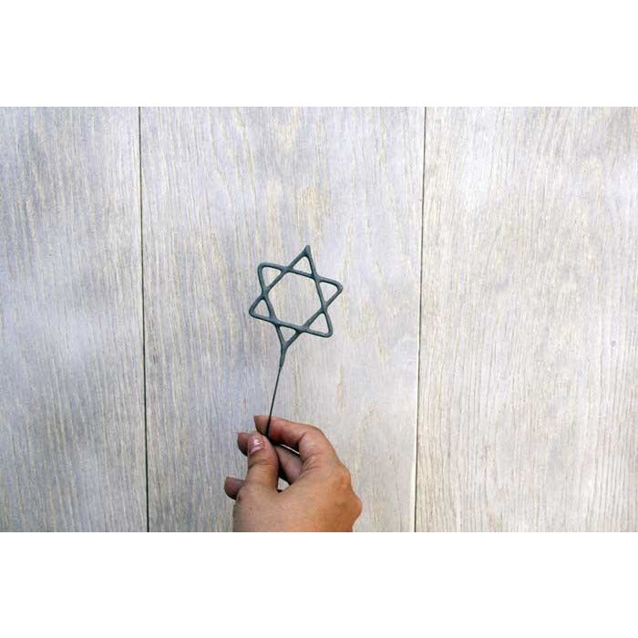 Star Of David Sparkler