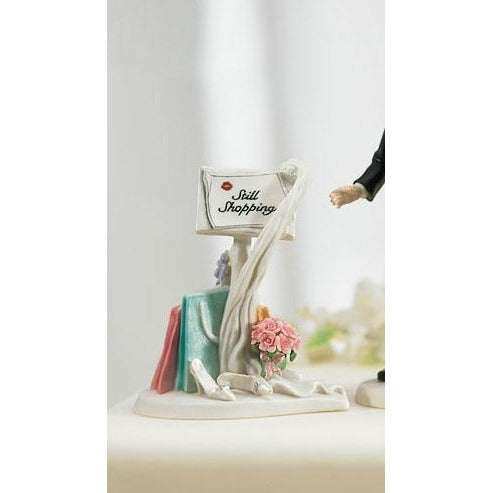 Still Shopping Message Mix & Match Cake Topper