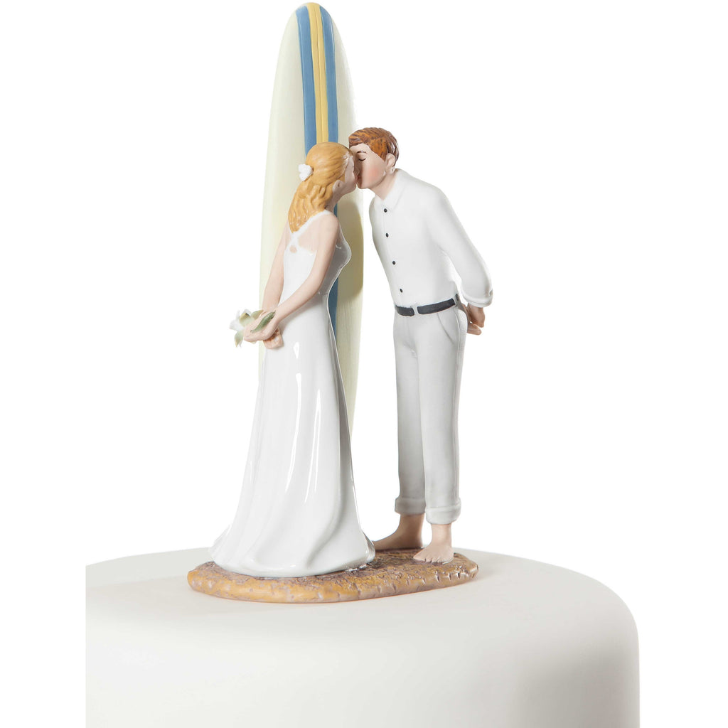 """Summer Lovin"" Surfer Beach Cake Topper"