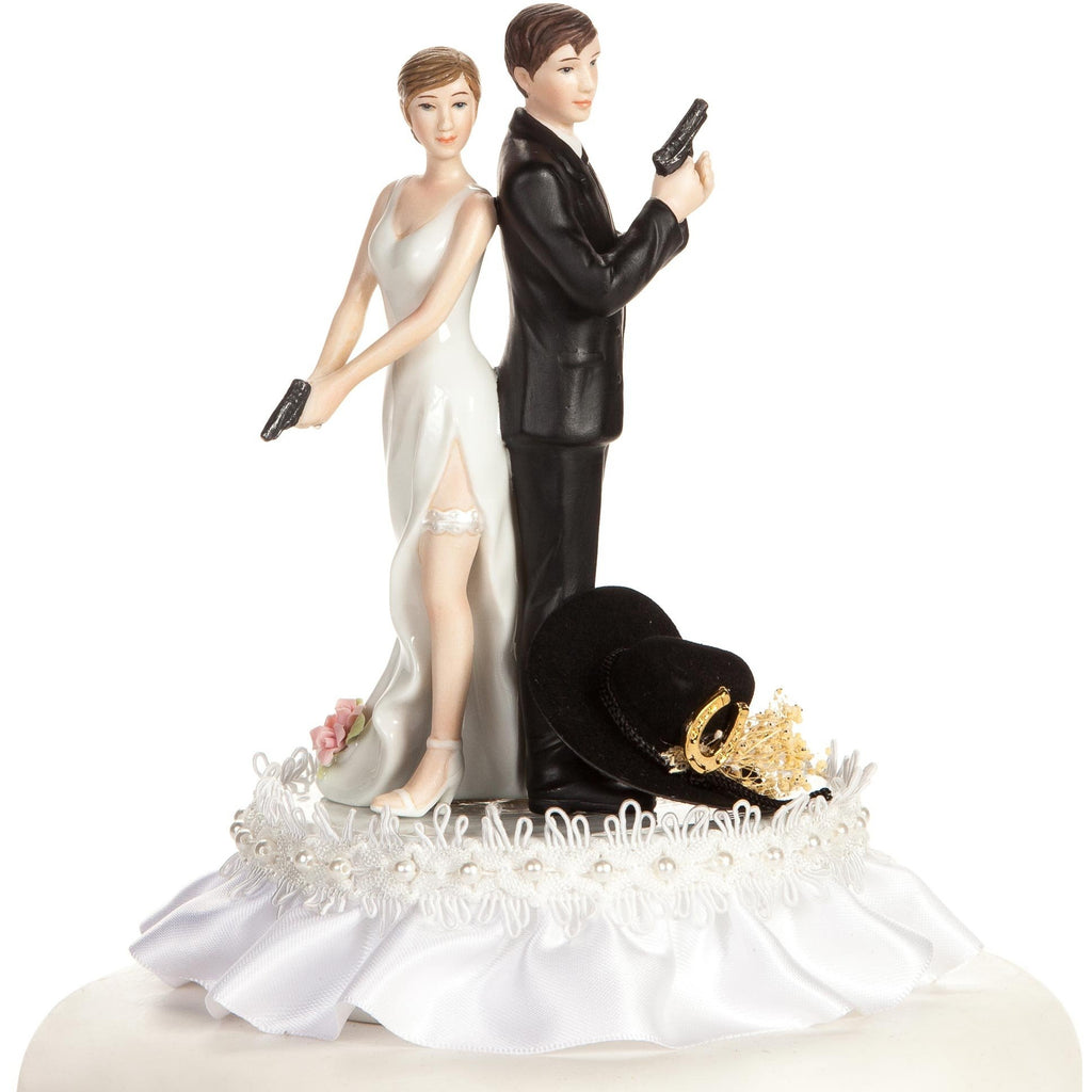 Super Sexy Western Cowboy Wedding Cake Topper