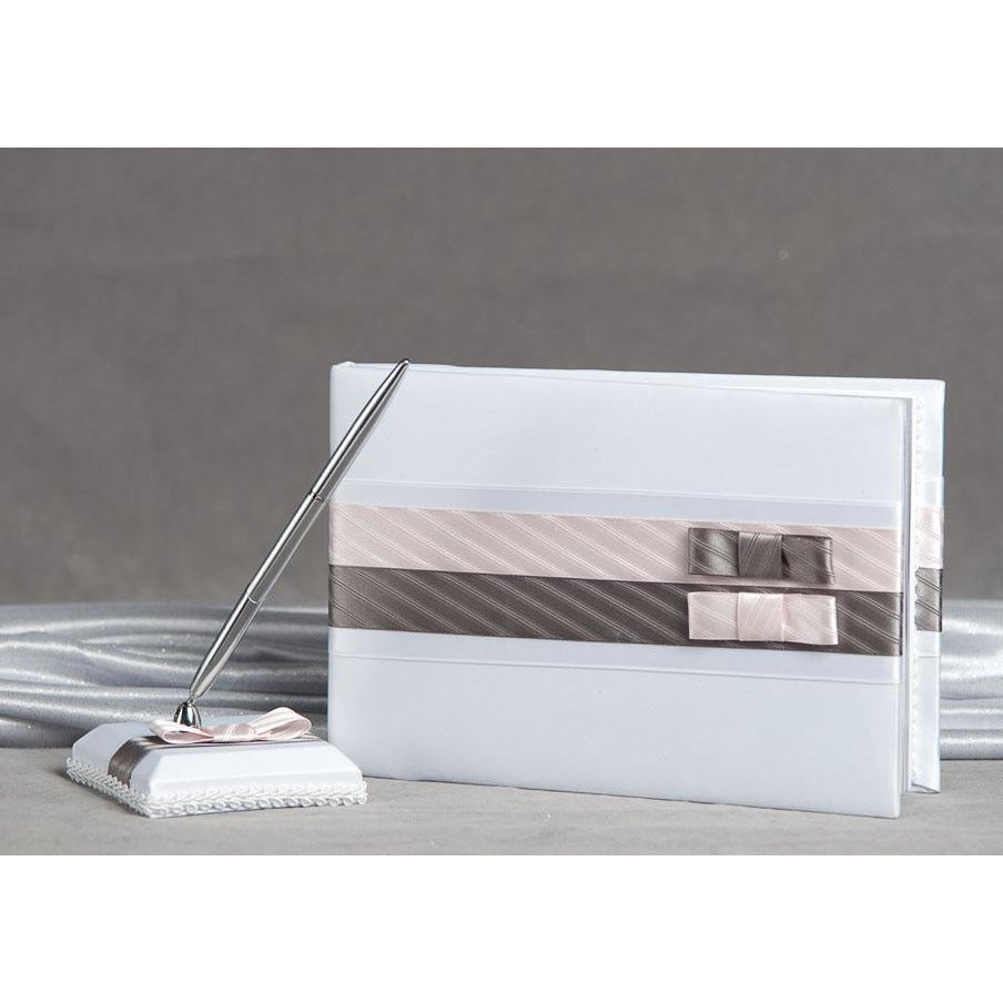 Tie(ing) the Knot Guest Book and Pen Set