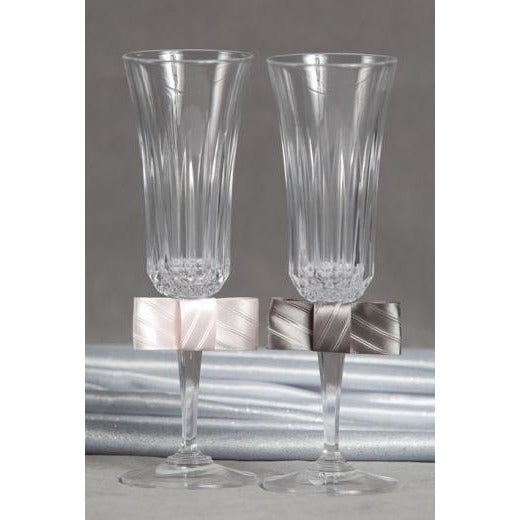 Tie(ing) the Knot Toasting Glasses