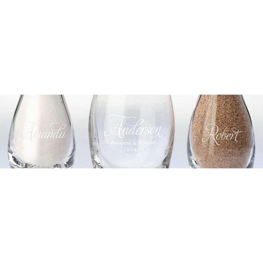 Together Forever Unity Vase Sand Set-Script