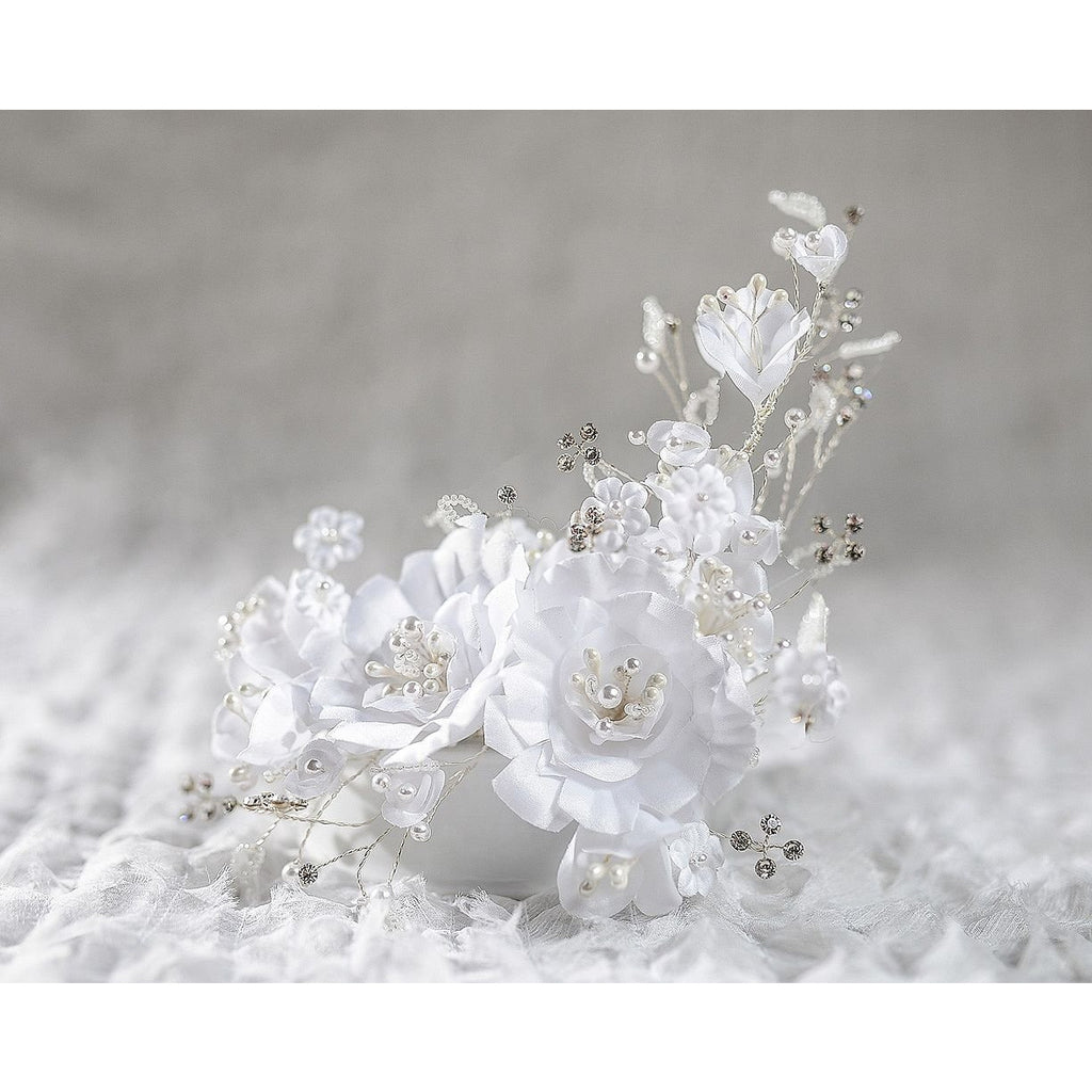 Vintage Elegant Rose Wedding Cake Topper