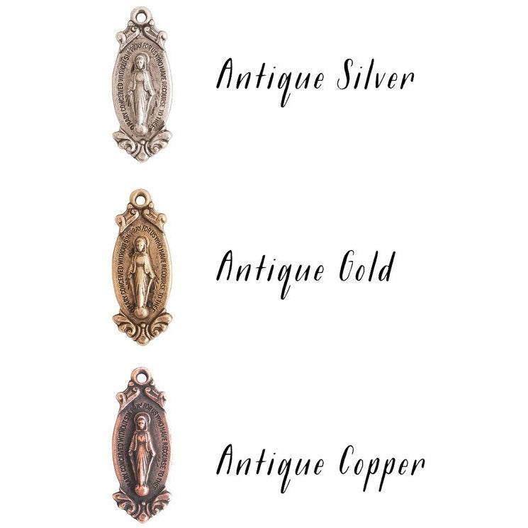 Virgin Mary Silk Wrap Jewelry