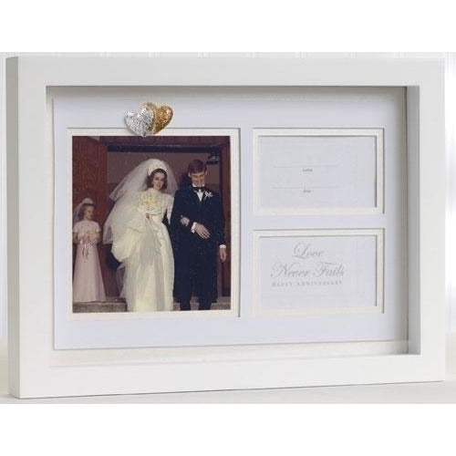 Wedding Anniversary Shadow Box