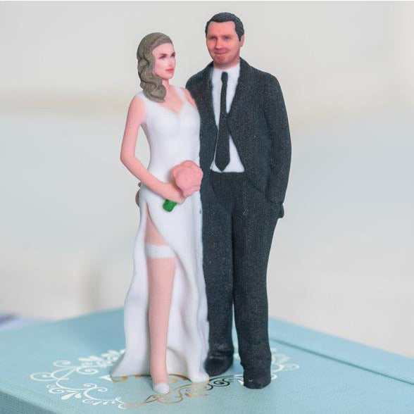 Custom Tender Touch Funny Wedding Cake Topper Figure - Made To Look Like You!