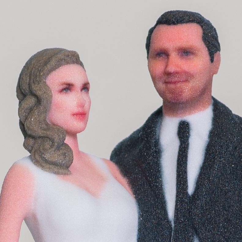 Custom Dream Come True Traditional Wedding Cake Topper Figure - Made To Look Like You!