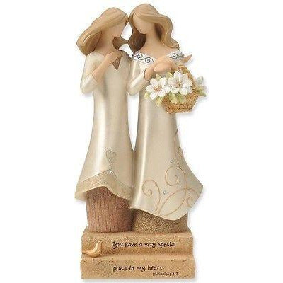 Legacy of Love Gay Lesbian Wedding Cake Topper Figurine