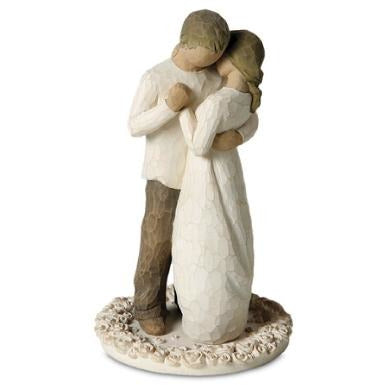 "Willow Tree ® ""Promise"" Wedding Cake Topper Figurine  (Small)"