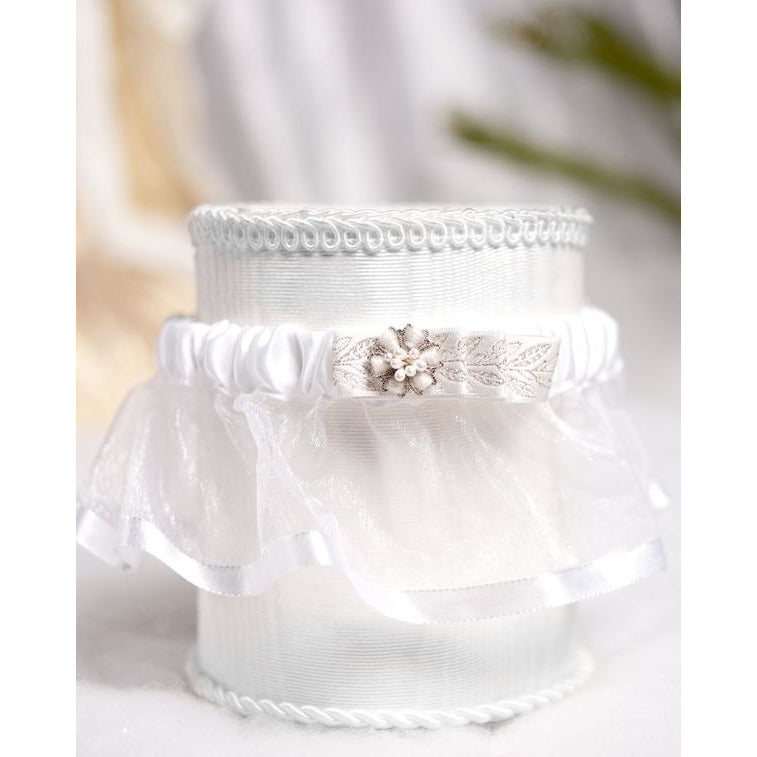 Winter Woodland Wedding Garter