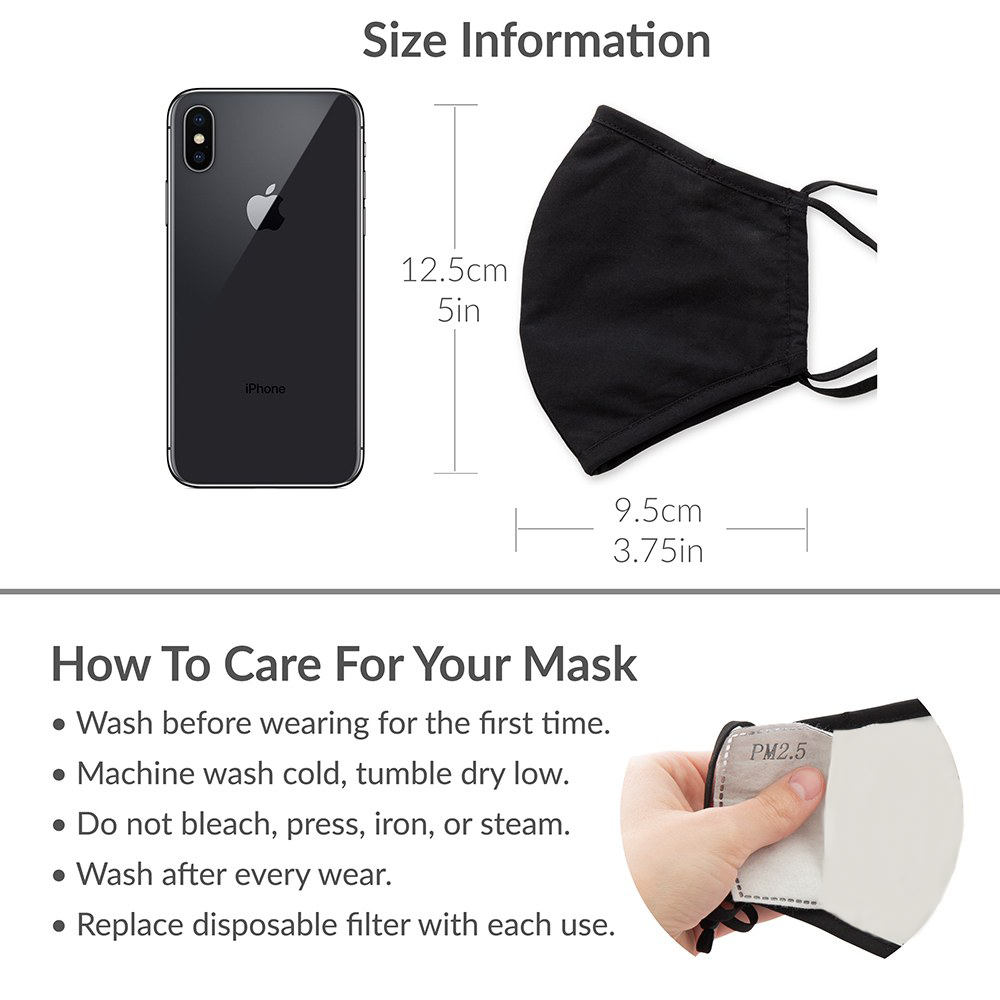 Green Monster Print Kids Protective Cloth Face Mask