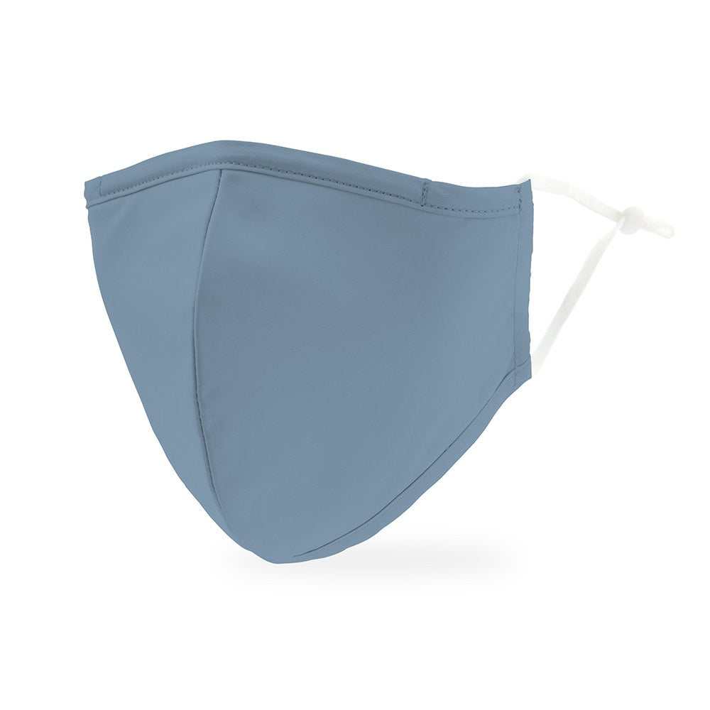 Powder Blue Protective Cloth Face Mask
