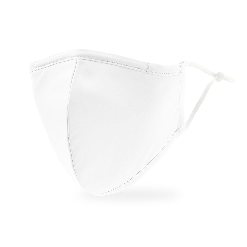 White Protective Cloth Face Mask