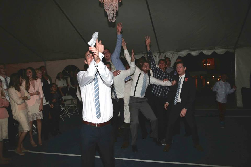 Garter Toss Tradition