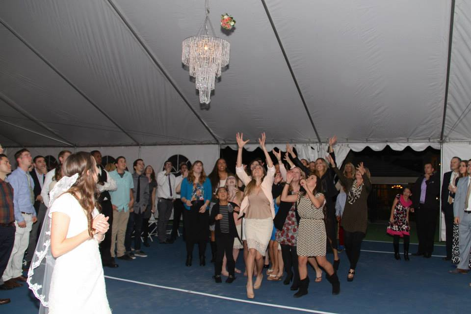 Bouquet Toss Tradition