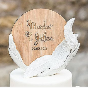 Whimsical Cake Topper