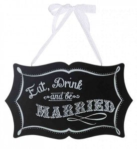 Chalkboard Wedding Ideas