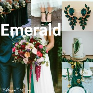 Emerald Gemstone Inspired Weddings