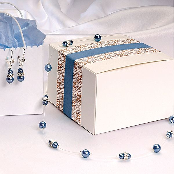 Something Blue Wedding Jewelry