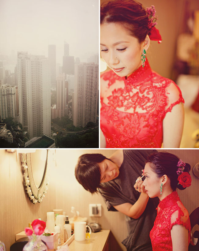 Photography: Brandon Kidd http://greenweddingshoes.com/real-wedding-erin-bens-hong-kong-wedding/