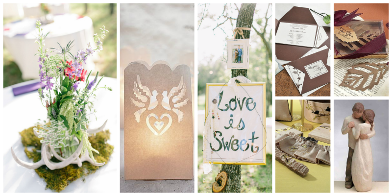 Fall wedding board