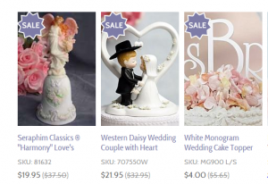 Wedding Collectibles Sale