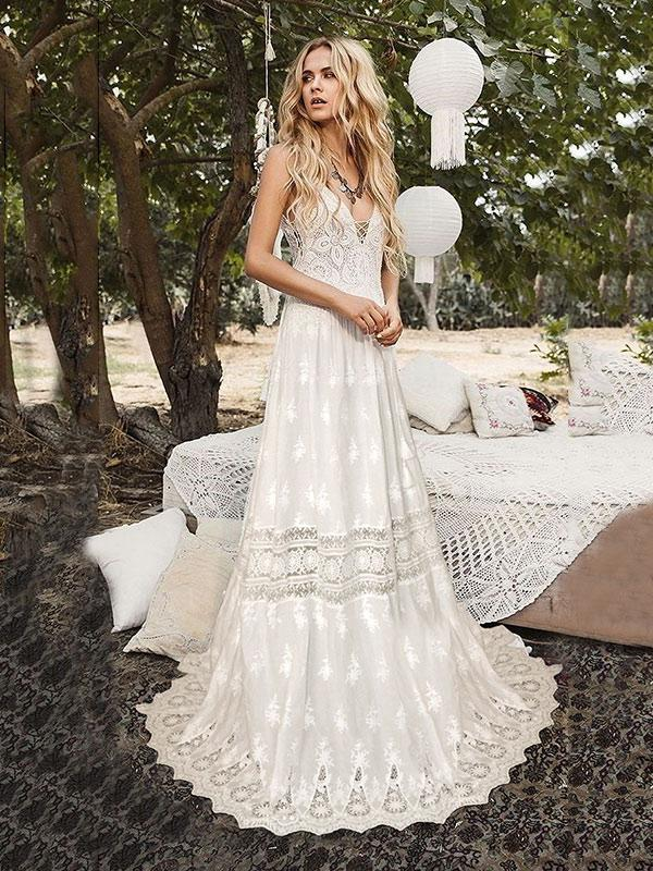 unique wedding dresses for spring