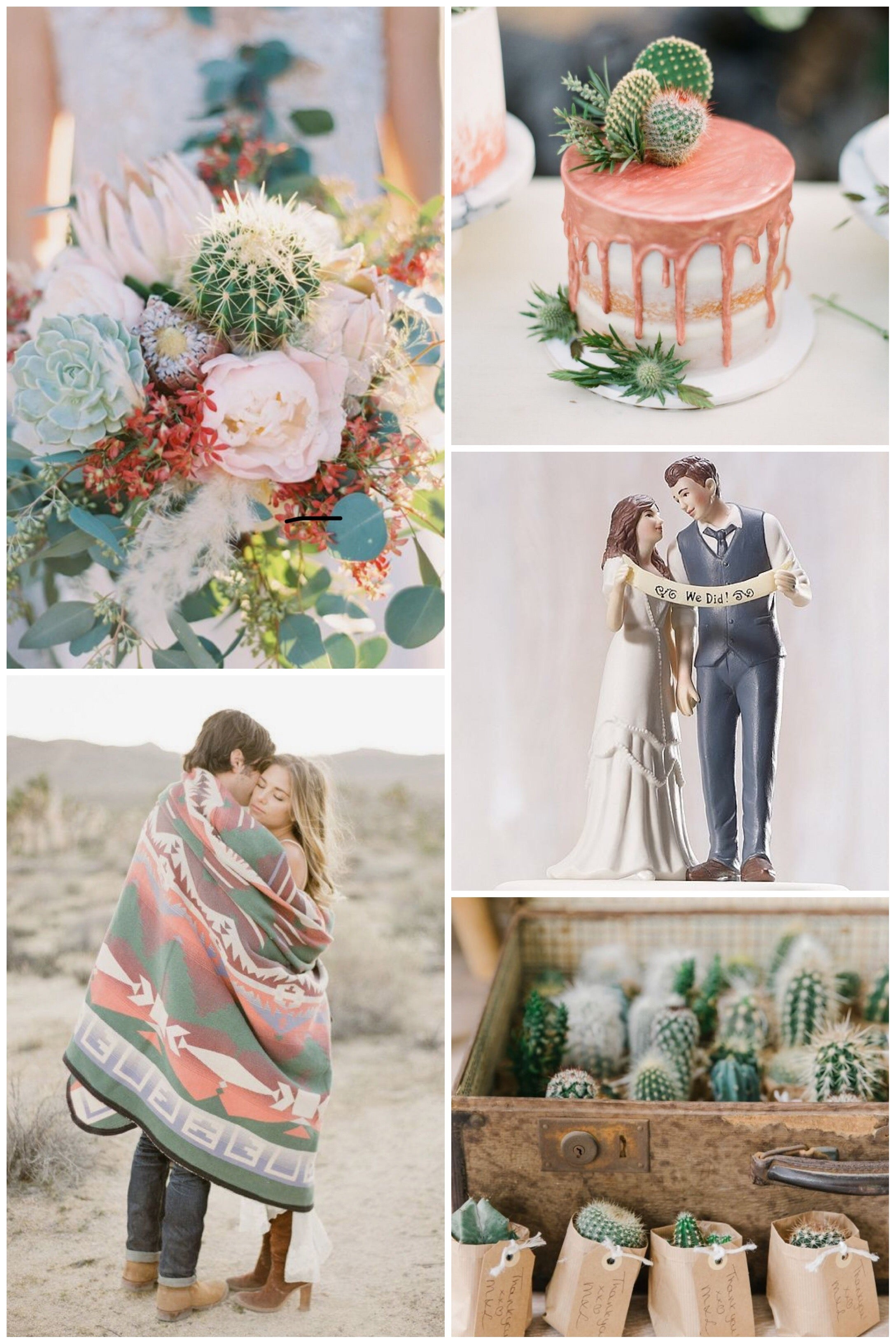 desert fall wedding theme
