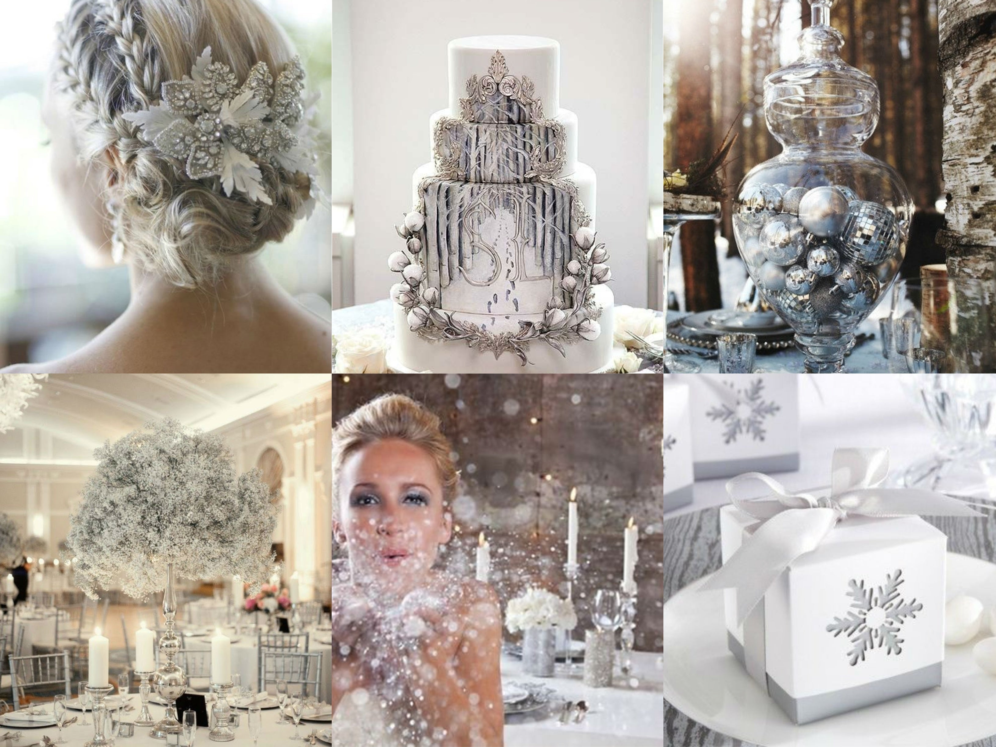 Winter Wedding Themes Winter Wonderland
