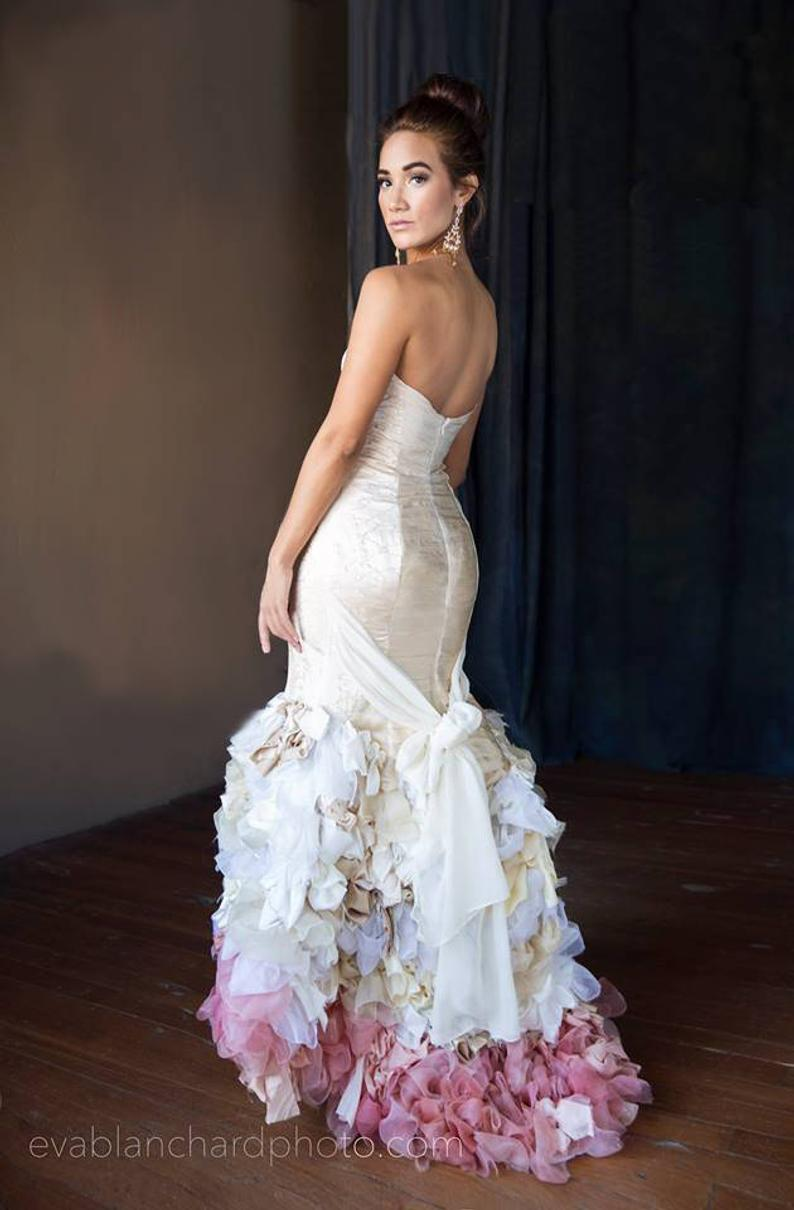 handmade gown unique wedding dresses