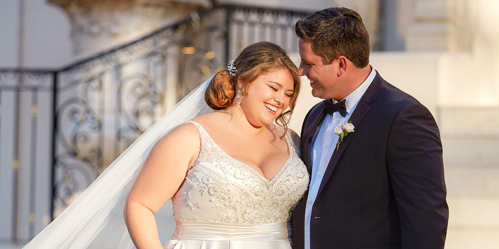 Best plus size wedding dress shops