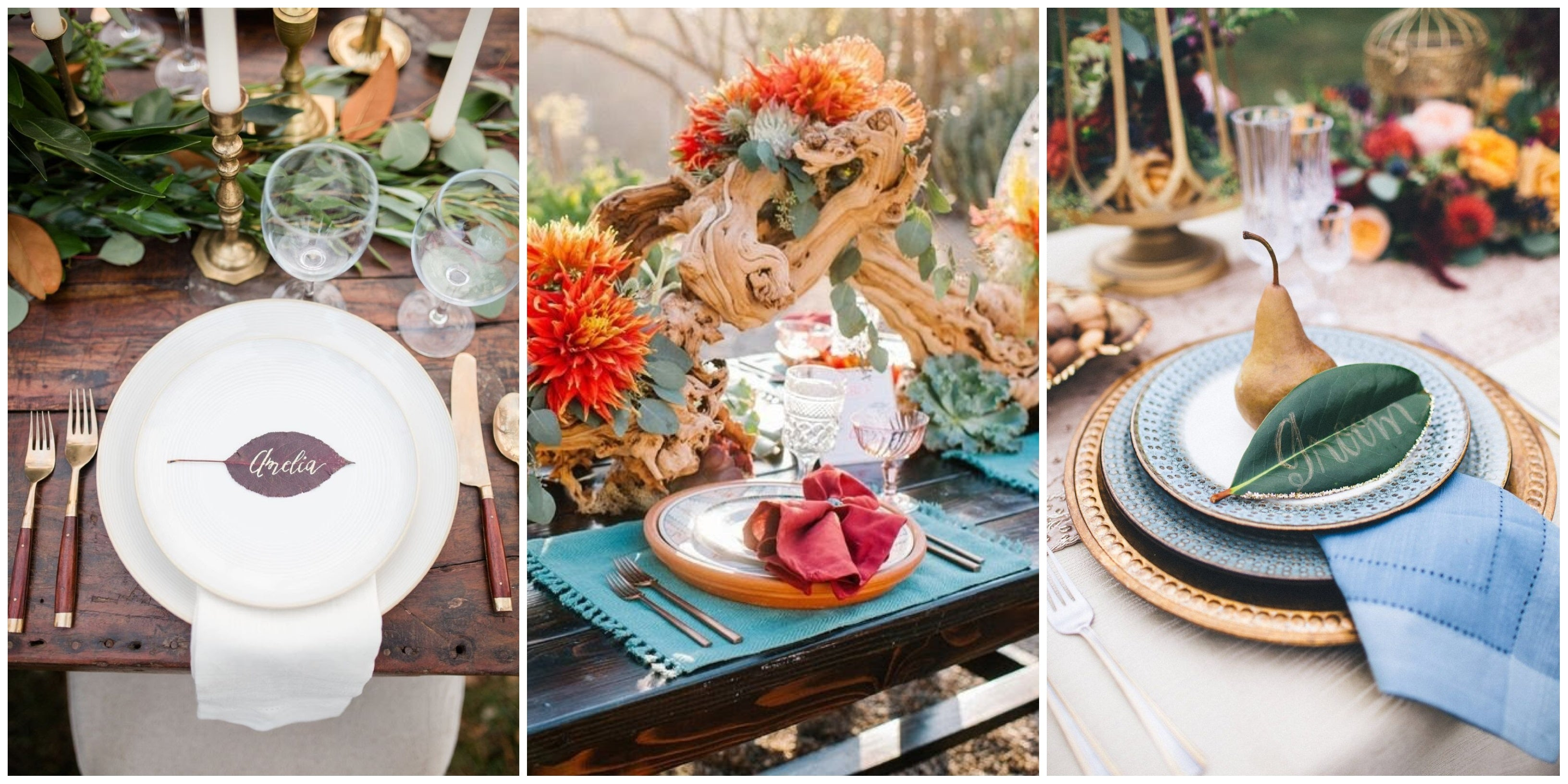 autumn wedding themes