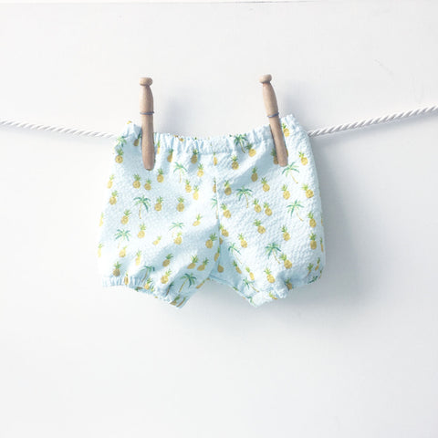 Pineapple Print Baby Diaper Covers