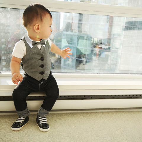baby boy ringbearer outfit
