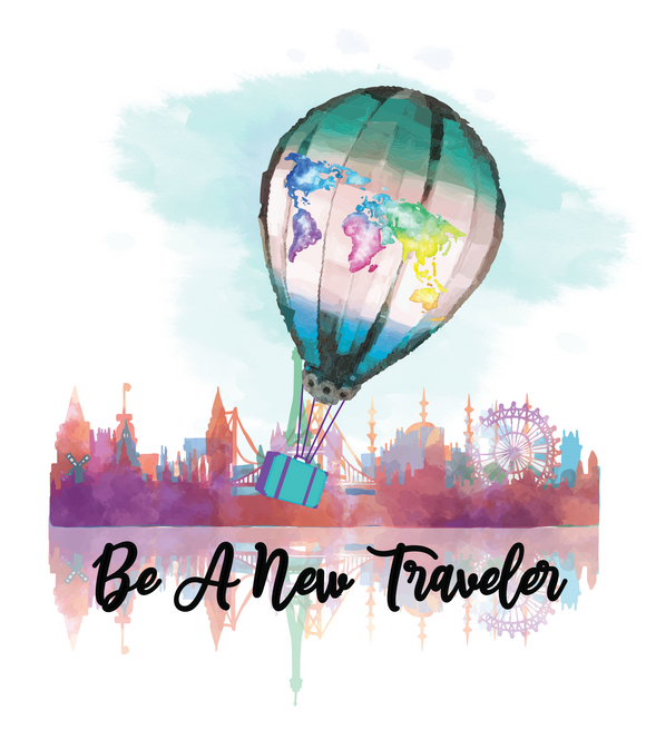 Be a New Traveler Brand Collection