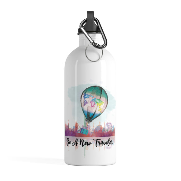Be A New Traveler Stainless Steel Water Bottle