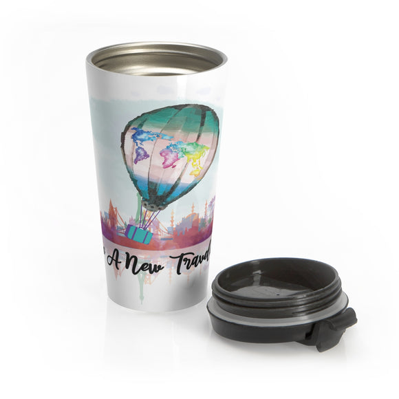 Be a New Traveler Stainles Steel Cofee Mug