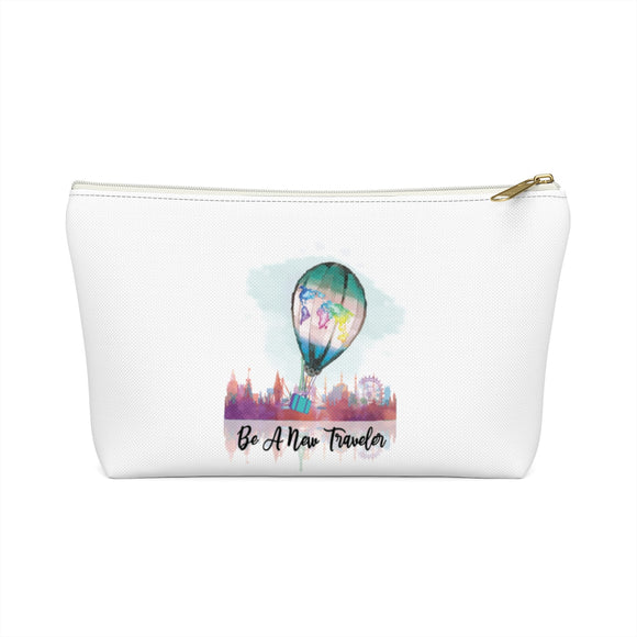 Be a New Traveler Makeup Bag