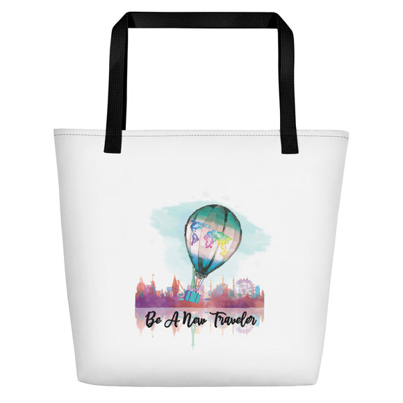 Be a New Traveler Brand Beach Bag