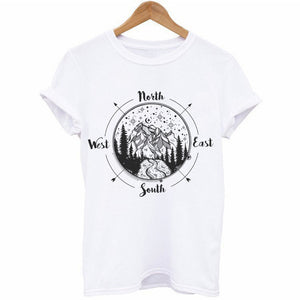 North South East West T-Shirt