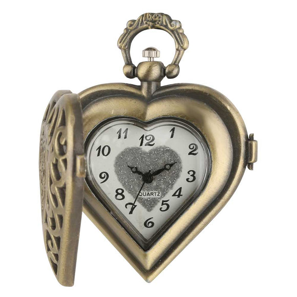 Special Love Heart Pocket  Women Watch
