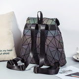 Geometric Luminous  Backpack