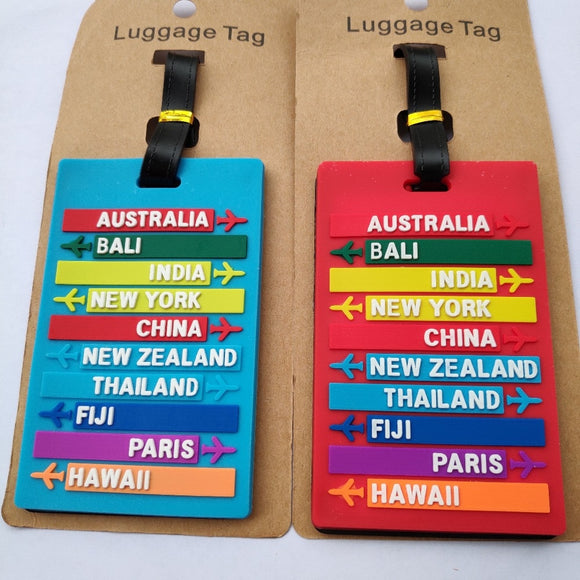Creative Baggage Boarding Tags Luggage