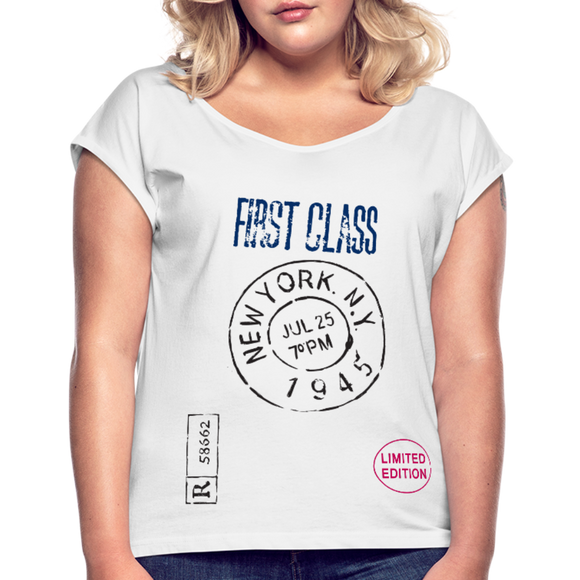 First Class New York - white