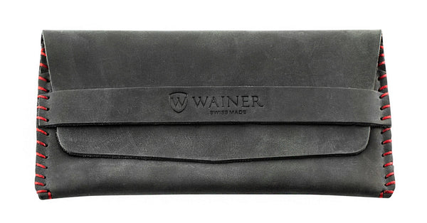 Wainer Suede Leather Wallet - Wainer The Swiss