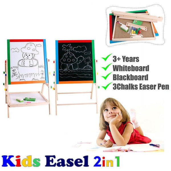 Lovely Chalkboard Whiteboard Easel